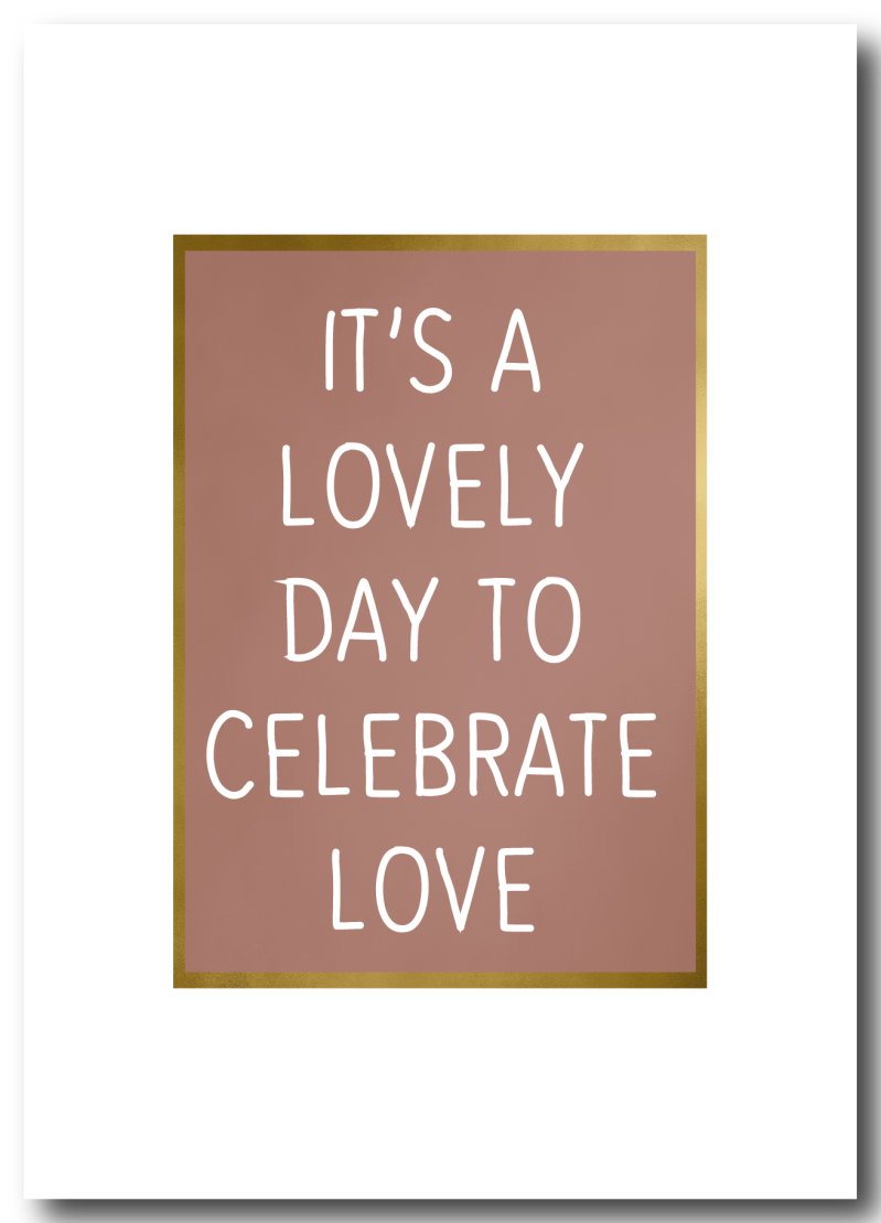 WS Q-4 : It's a lovely day to celebrate