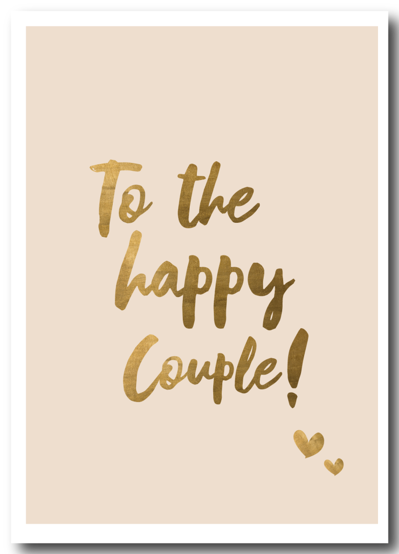 WS Q-4 : To the happy couple
