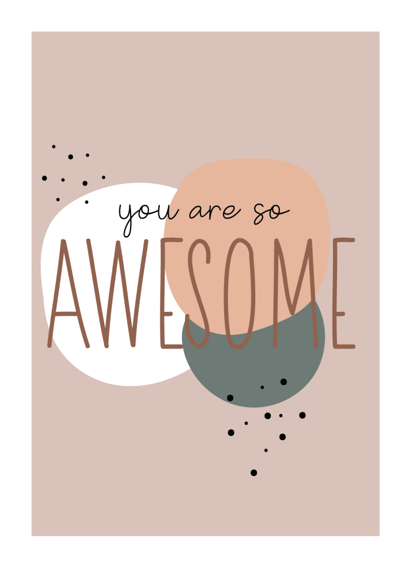 WS Tussencollectie :  You're so awesome