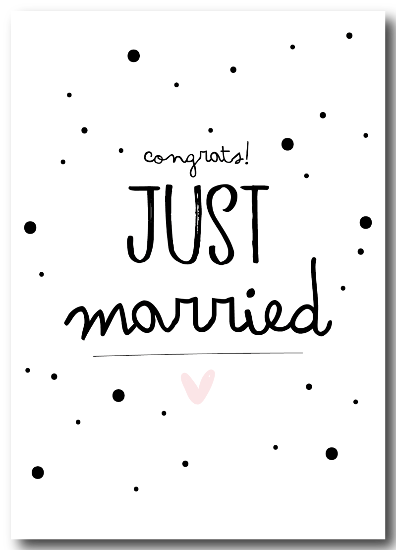 SALE  : Congrats! just Married