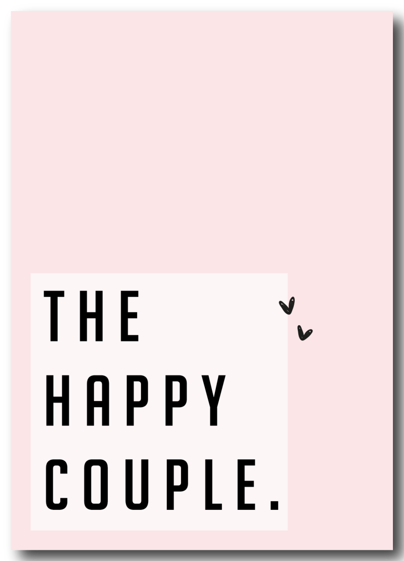 SALE  : The happy couple