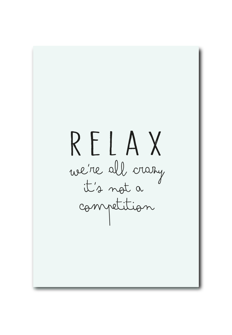 SALE  : Relax! we're all crazy