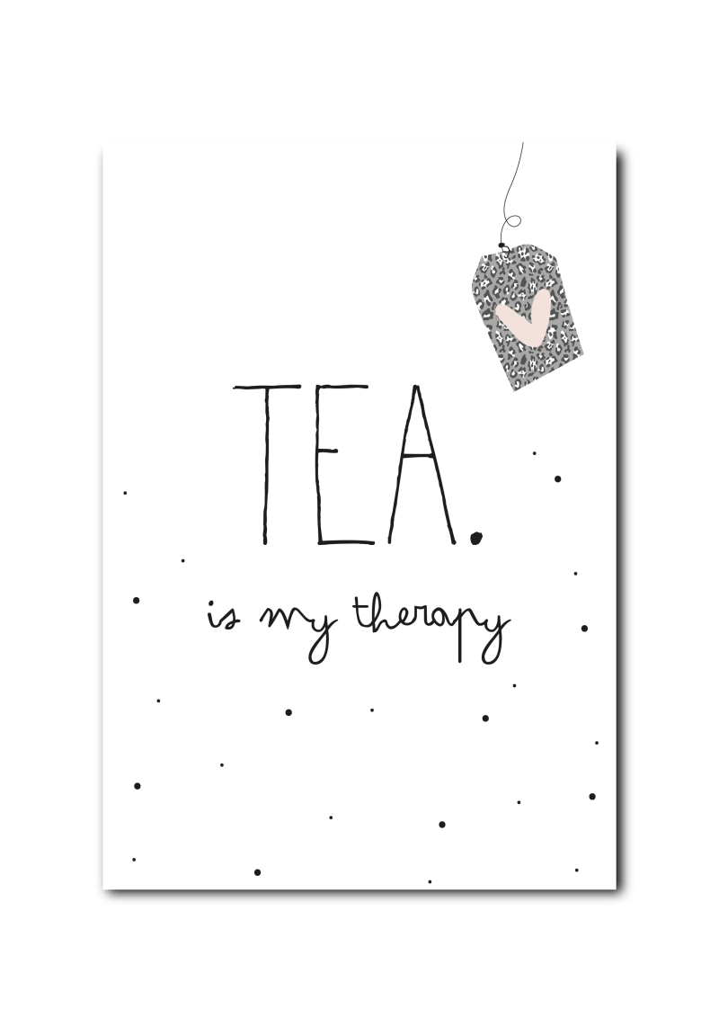 WS  : Tea is my therapy