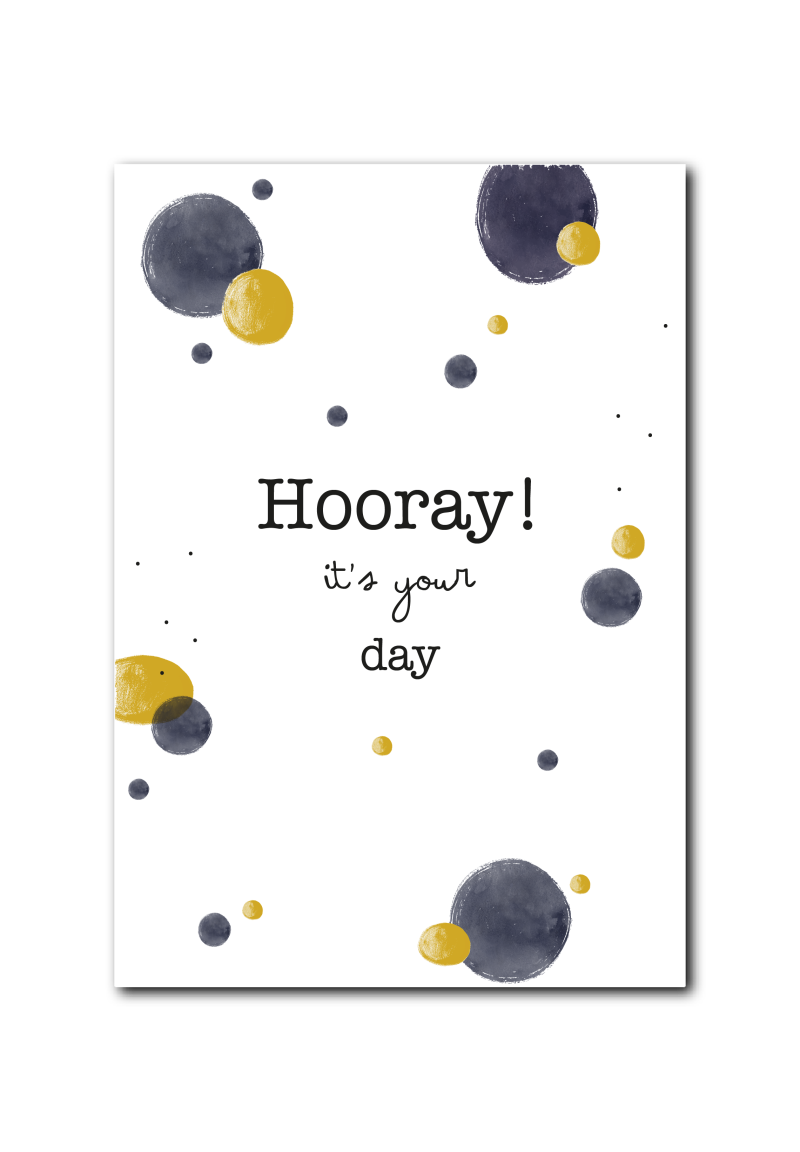 WS  : Hooray it's your day