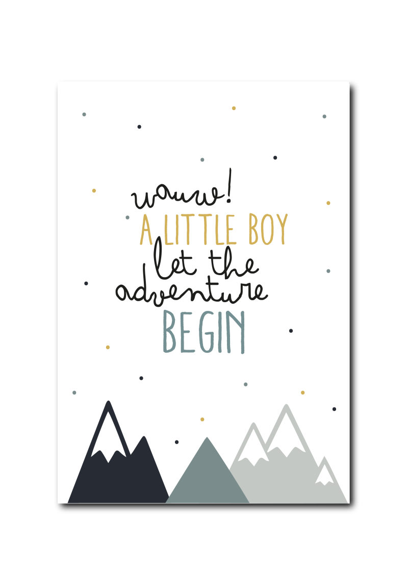 WS Q-3 : Baby boy, let the adventure begin!