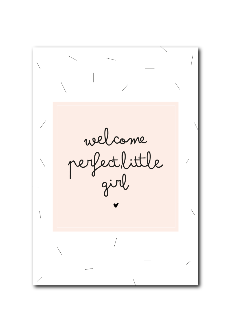 WS  : Welcome perfect little girl