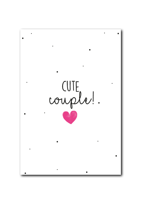 SALE : Cute Couple