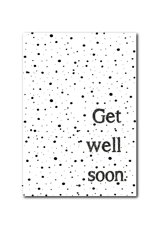 SALE : Get well soon