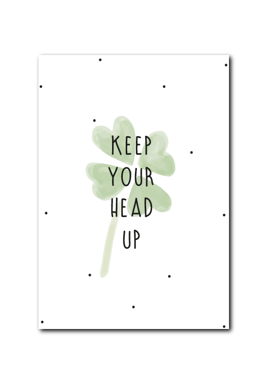 SALE : Keep your head up