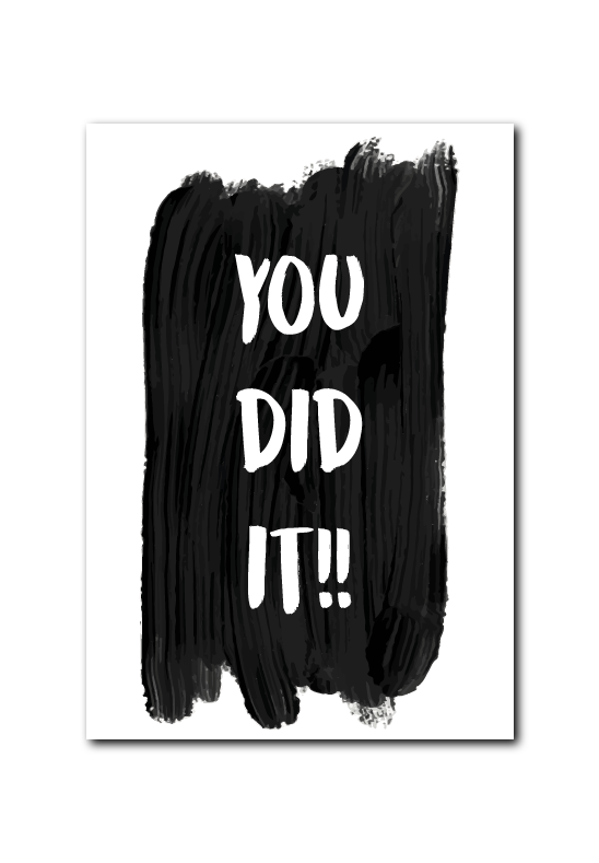 SALE : You did it!