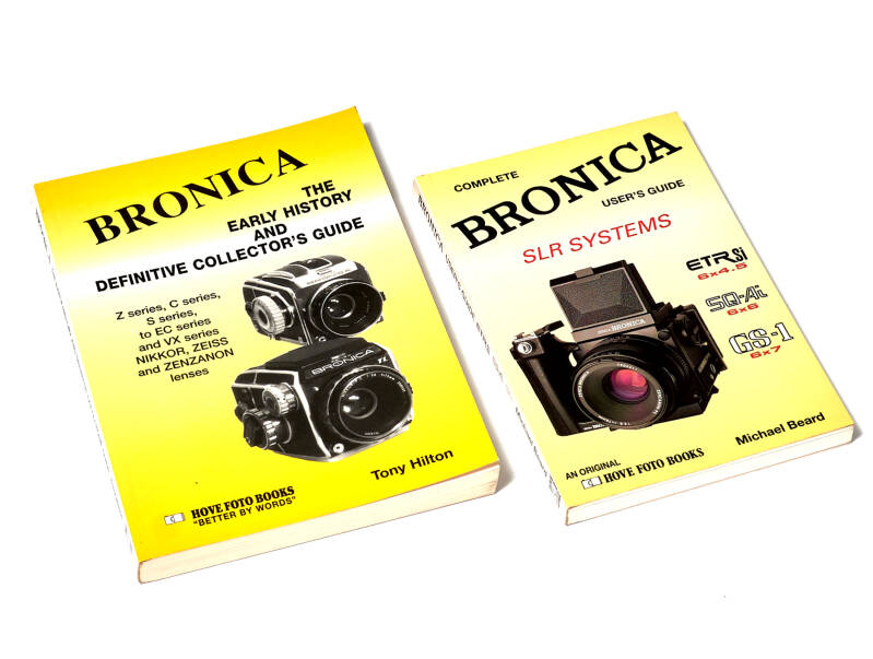 Bronica The History + Bronica Users Guide