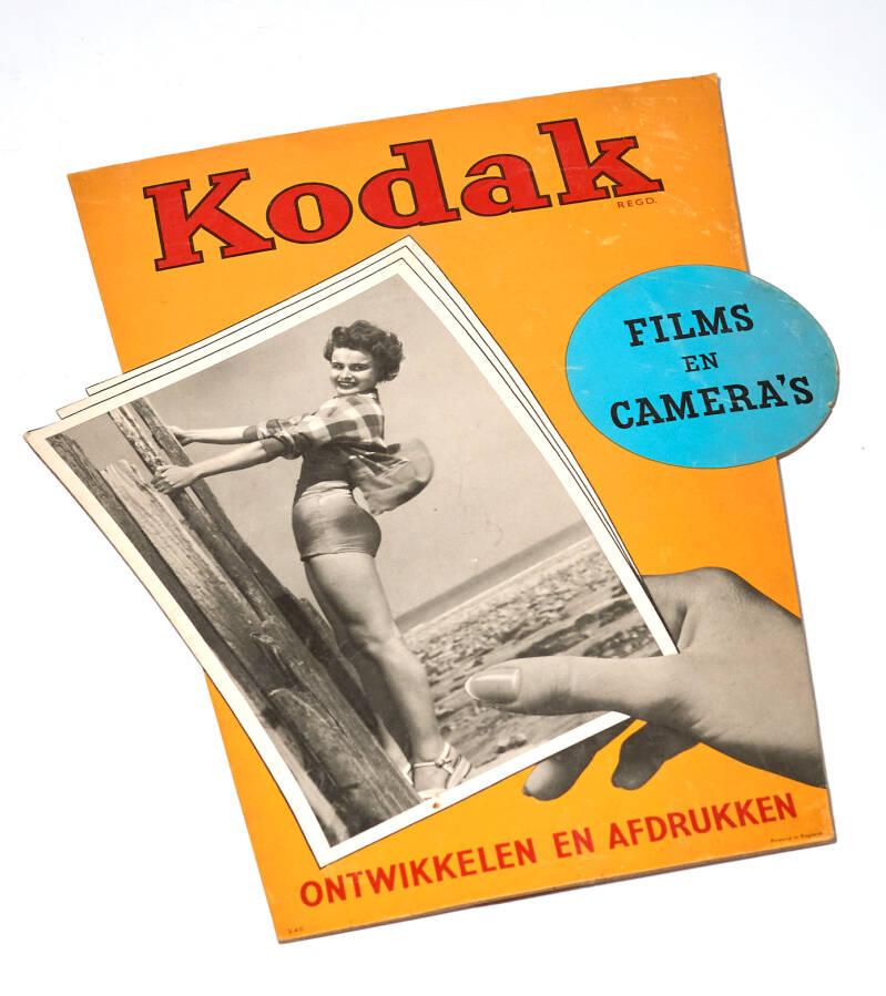 Kodak shop display