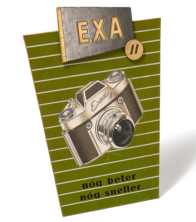 Exa shop display for Exa II Camera