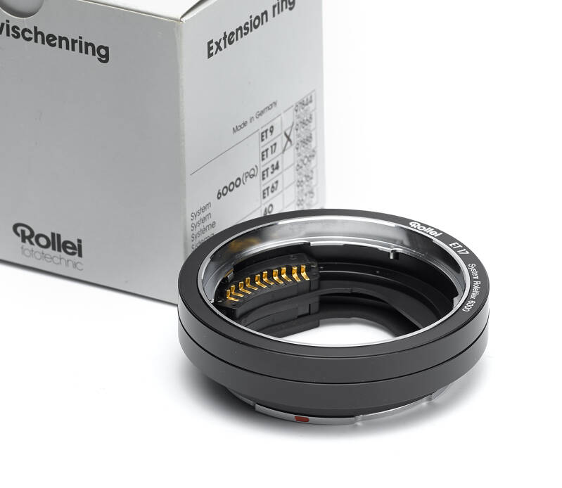 Rollei 6000 system Extension ring ET 17