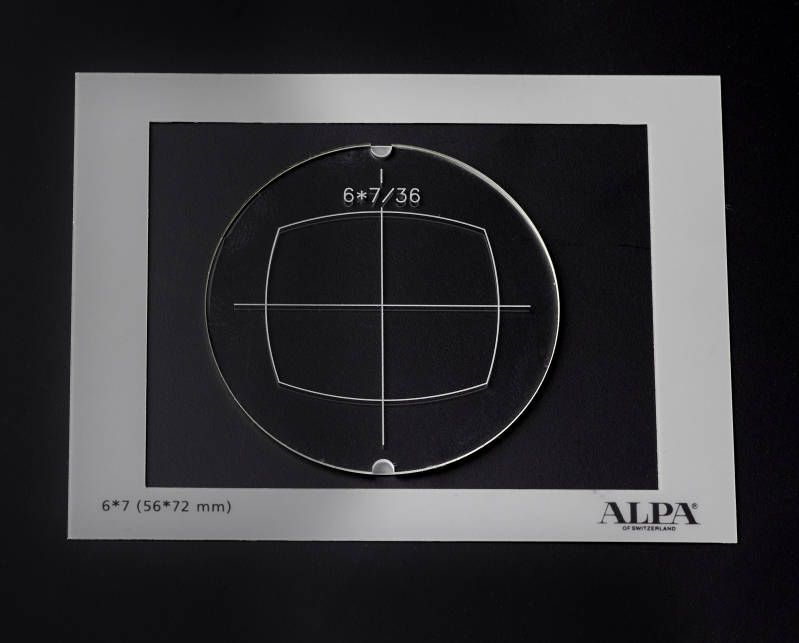 Mask for ALPA viewfinder Series 12- 6x7/36mm + Mask for Groundglass