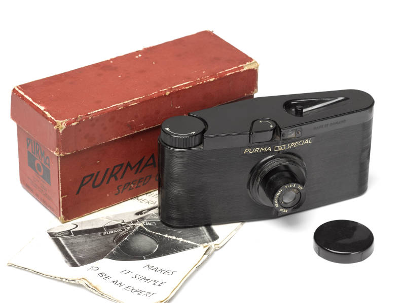 Purma Special With lens cab and original box