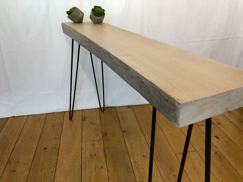 sidetable boomstam Essen in de gray wax