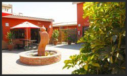 Amanpuri Lodge in Swakopmund is where the Namibia and Botswana group tours depart from