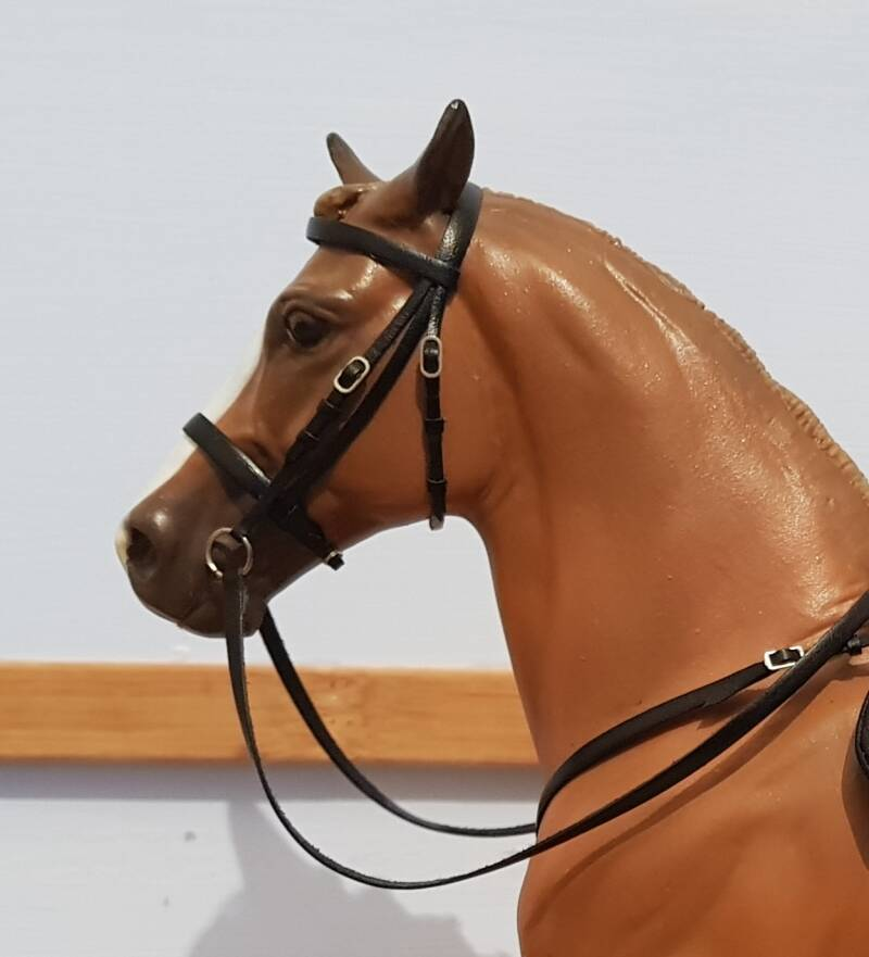 Plain Cavesson Bridle