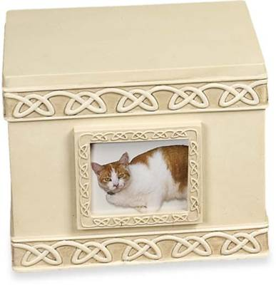 Pet Keepsake Box - Urn with Small Photo Frame    s49509
