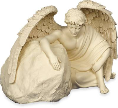 Cremation Urn - Angel Rock Eternal Guardian    s45266