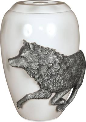 AngelStar Pewter Urn Free Spirit Marble Effect Finish M    s45242