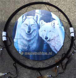 Two Wolves   Native Art   Artikelnummer:Z15