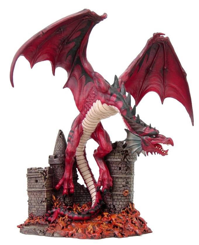 """""""Incineration"""" dragon by Tom Wood    [pwfp01670]"""