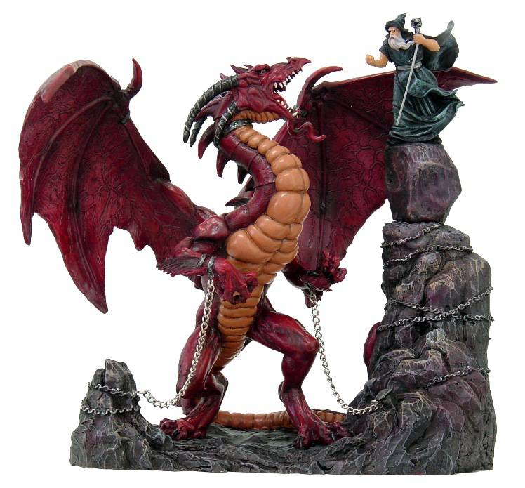 """""""Unleashed"""" dragon by Tom Wood    [pwfp01671]"""