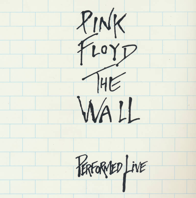 Pink Floyd - The Wall Performed Live [Holland] - Book