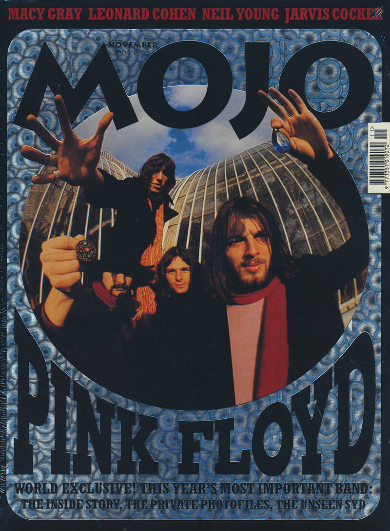 Pink Floyd - Mojo 096, November 2001 [UK] - Magazine