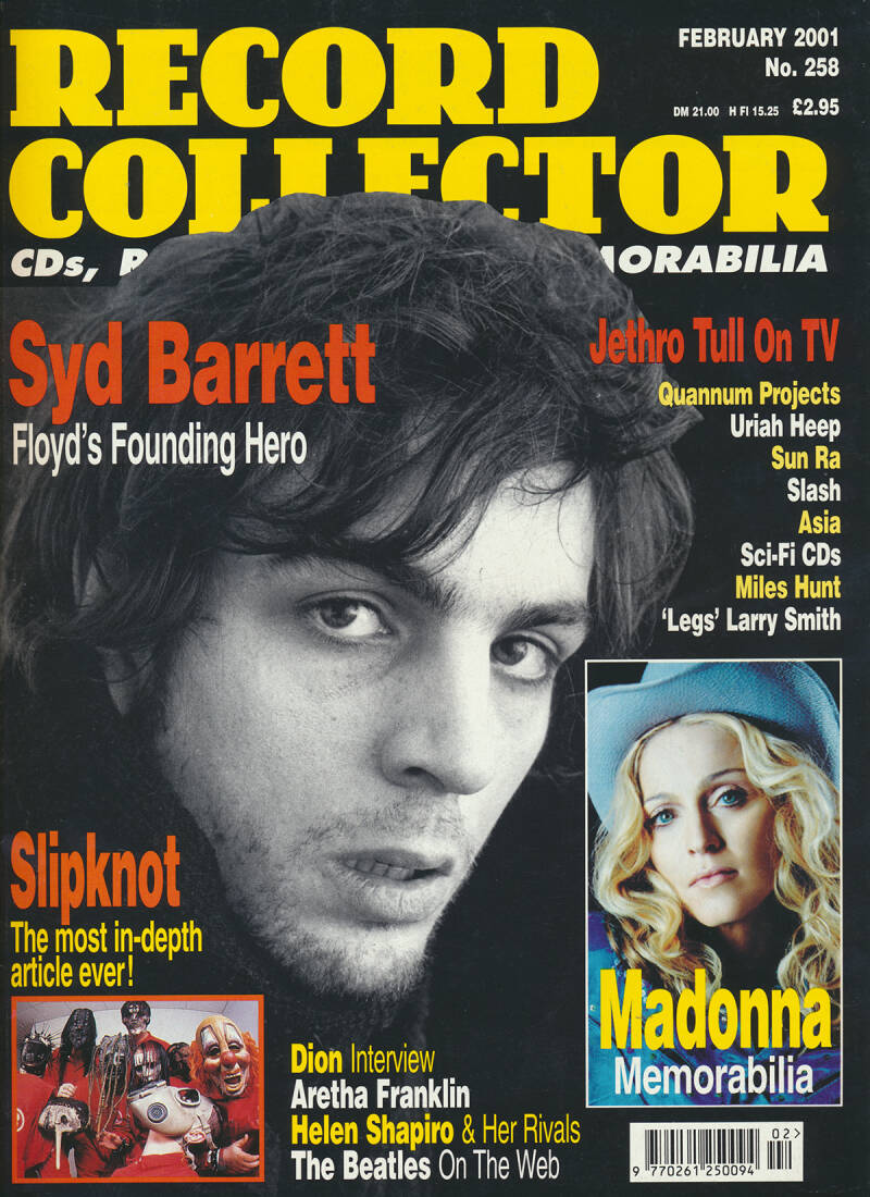 Pink Floyd - Record Collector 258, February 2001 [UK] - Magazine