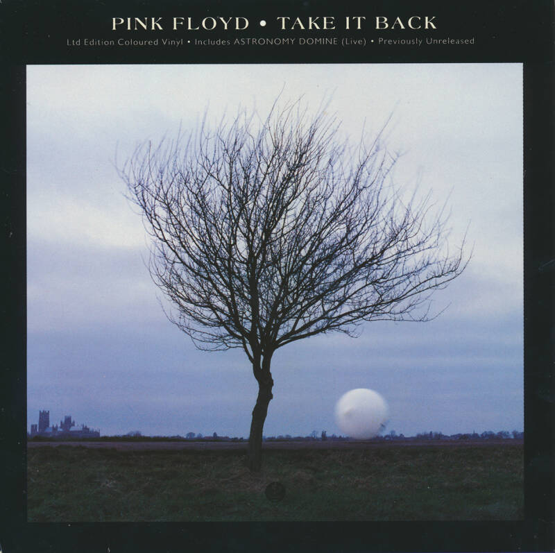 Pink Floyd - Take It Back [UK, red vinyl] - 7""
