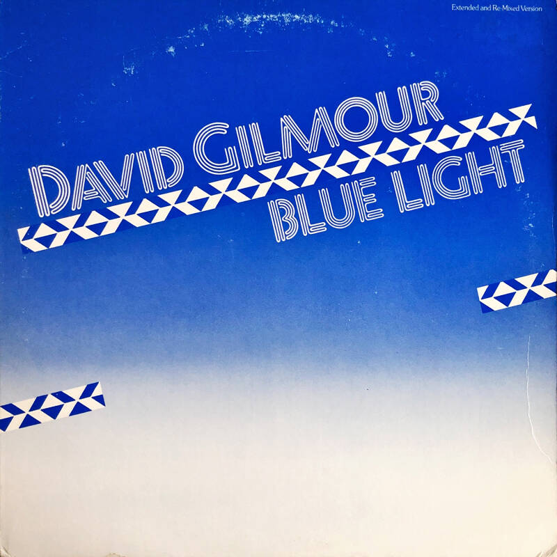 David Gilmour - Blue Light [USA] - 12""