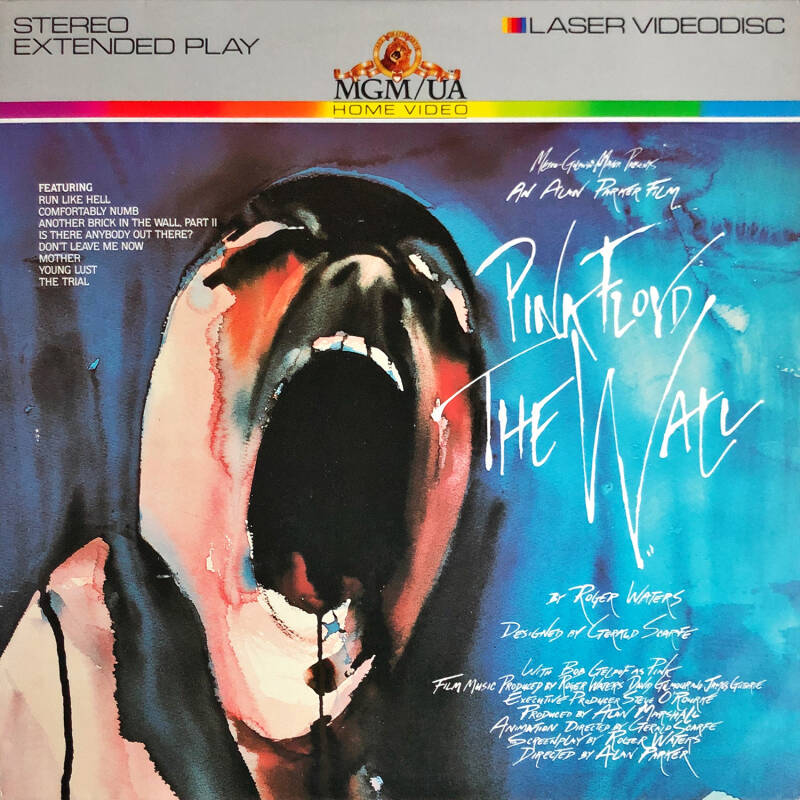 Pink Floyd - The Wall [USA] - LaserDisc