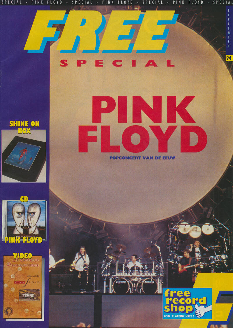 Pink Floyd - Free Special September 1994 [Holland] - Magazine