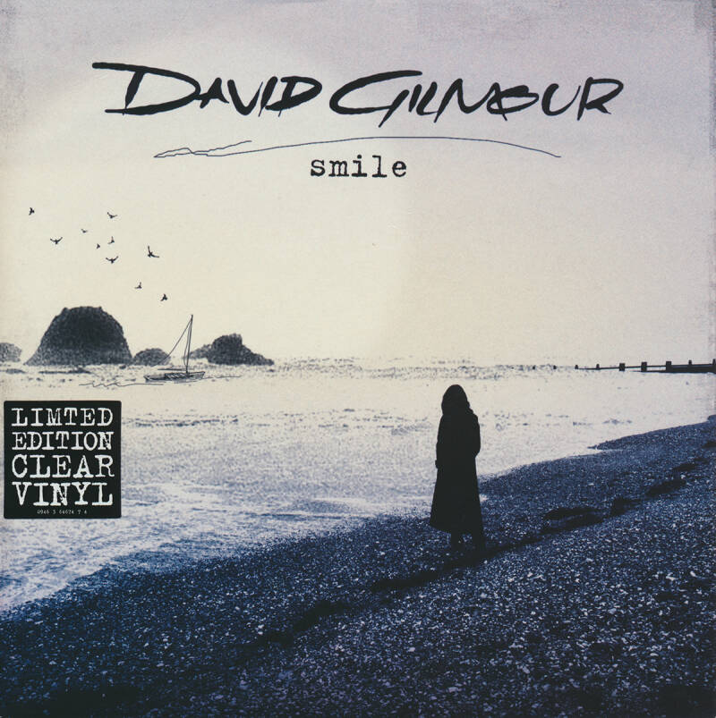 David Gilmour - Smile [UK, clear vinyl] - 7""