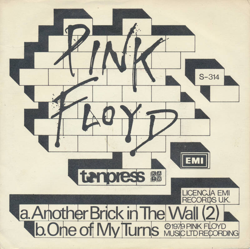 """Pink Floyd - Another Brick In The Wall Part 2 [Poland] - 7"""""""
