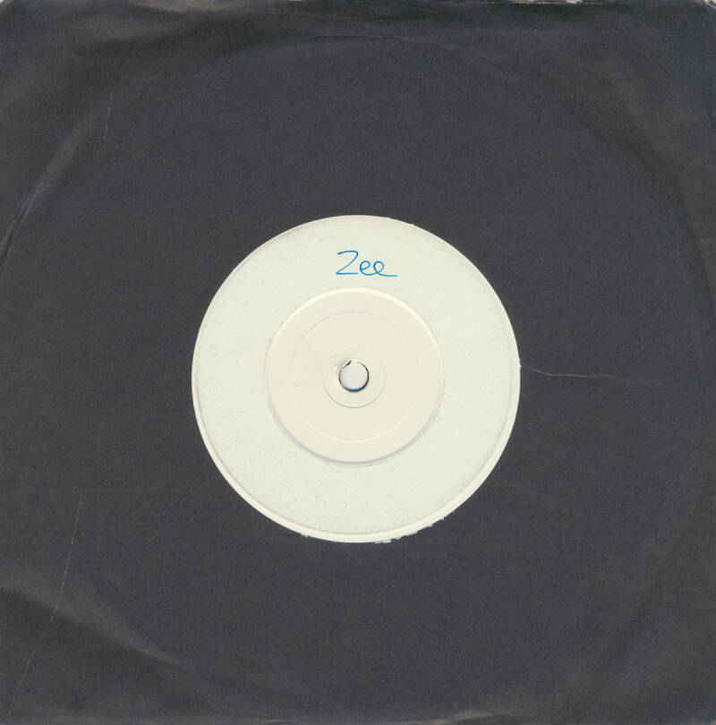 Zee [Richard Wright / Dave Harris] - Confusion [UK, test pressing] - 7""