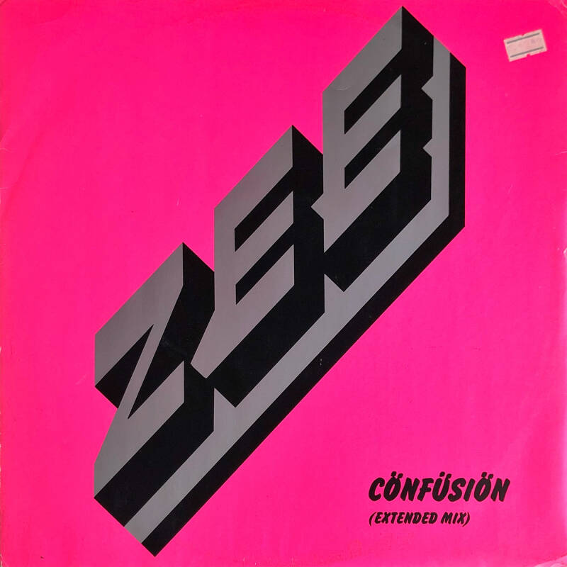 Richard Wright / Zee - Confusion [UK] - 12""