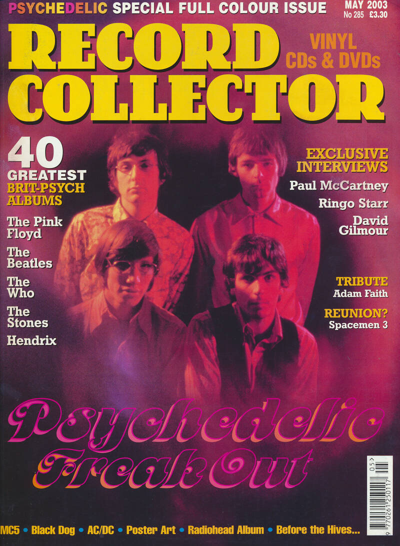 Pink Floyd - Record Collector 285, May 2003 [UK] - Magazine
