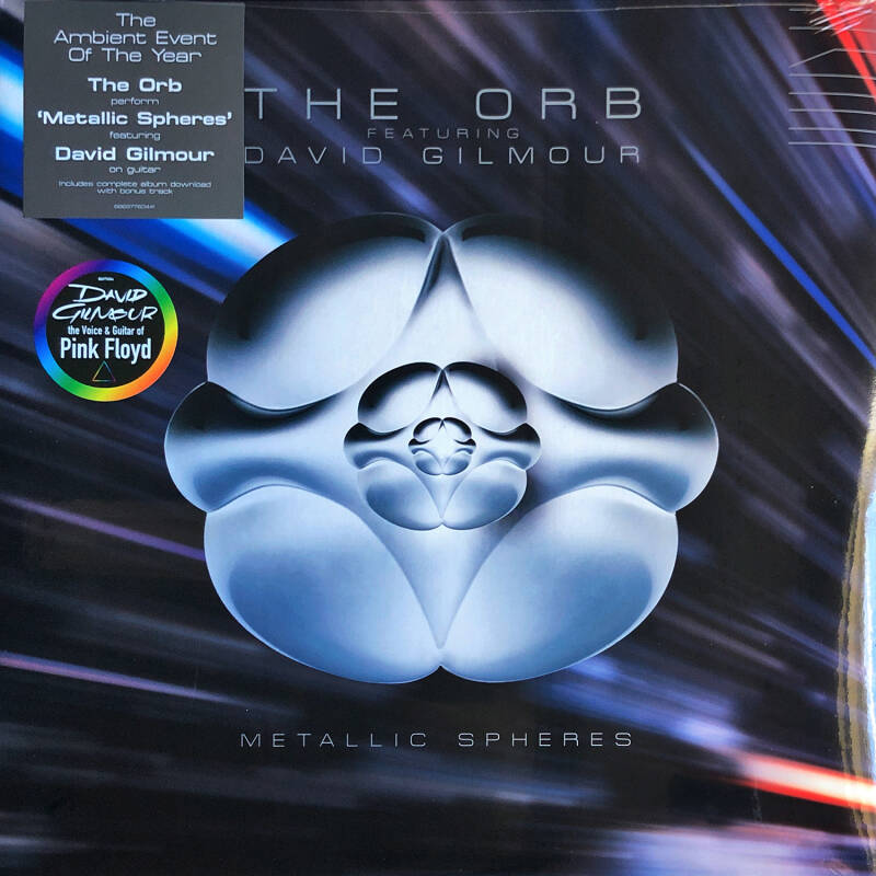 David Gilmour + The Orb - Metallic Spheres [EU] - 2LP
