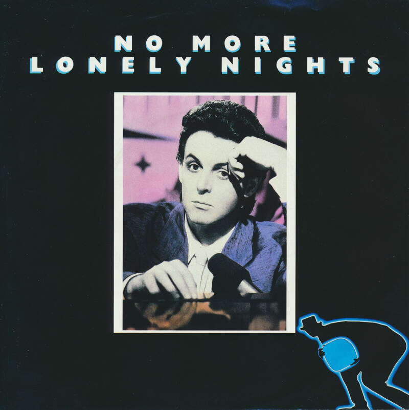 """Paul McCartney - No More Lonely Nights [Holland] - 7"""""""