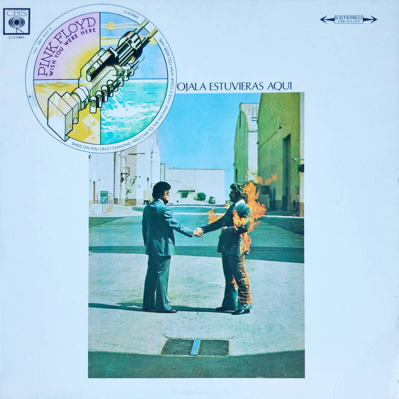Pink Floyd - Wish You Were Here [Mexico] - LP
