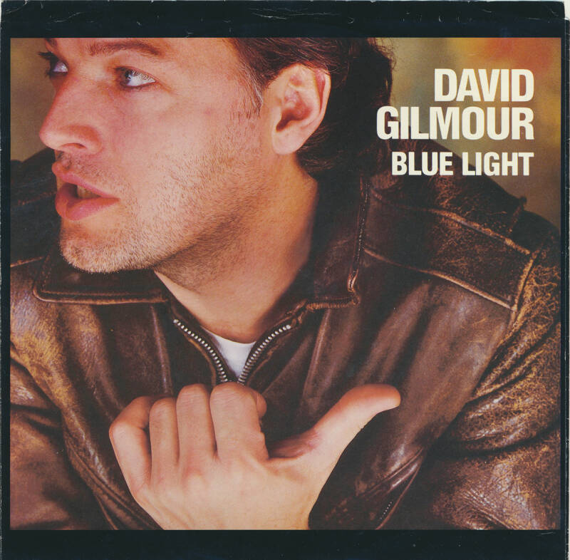 David Gilmour - Blue Light [USA, promo] - 7""