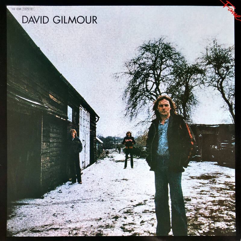David Gilmour - David Gilmour [Holland] - LP