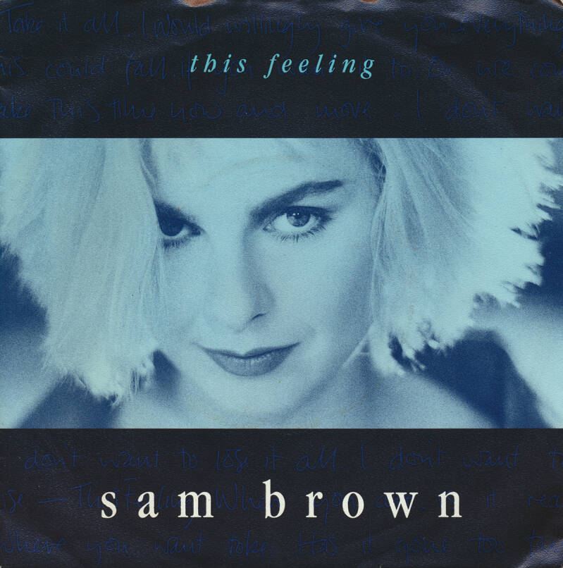 Sam Brown - This Feeling [Germany] - 7""
