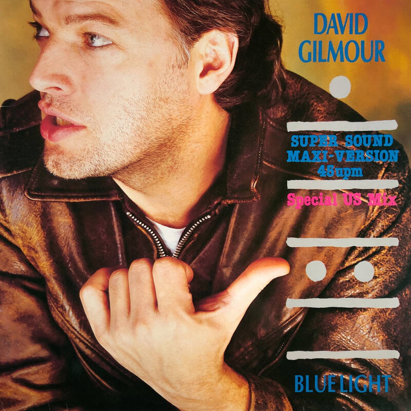David Gilmour - Blue Light - Special US Mix [Germany] - 12""