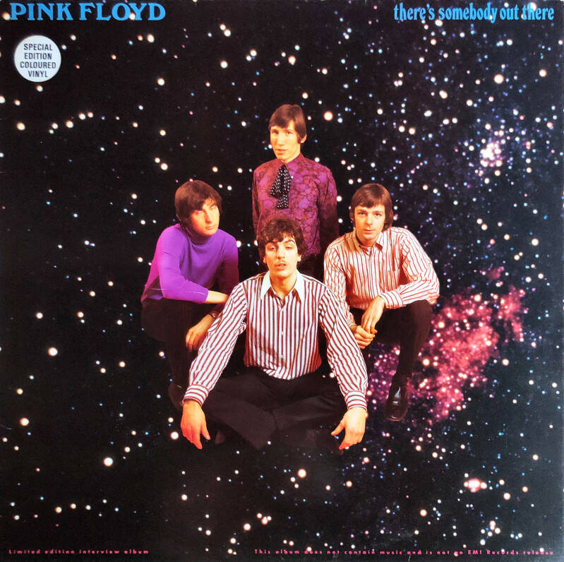 Pink Floyd - There's Somebody Out There [UK, clear vinyl] - LP