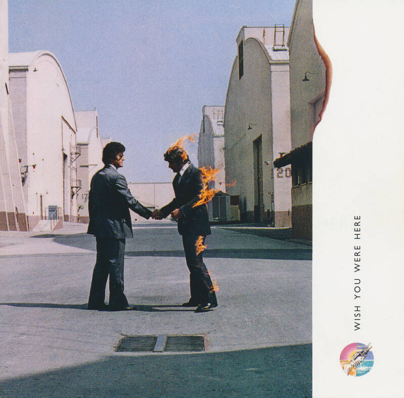 Pink Floyd - Wish You Were Here [Holland/UK] - CD